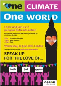 Speak up for the love of