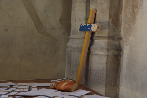 UK - Southwark - Lampedusa Cross - Refugees - St George''s Cathedral - Leah Parker-Turnock.JPG