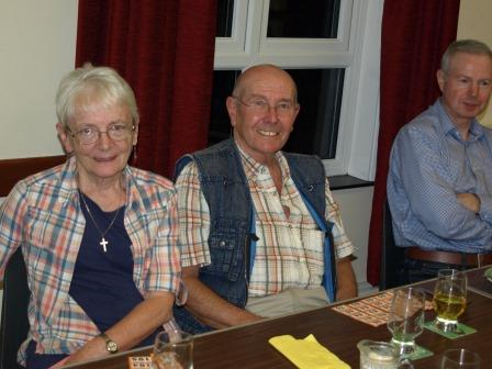 Parishioners after their Somerset themed supper.